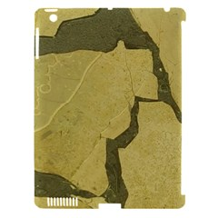 Stylish Gold Stone Apple Ipad 3/4 Hardshell Case (compatible With Smart Cover) by yoursparklingshop