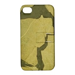 Stylish Gold Stone Apple Iphone 4/4s Hardshell Case With Stand by yoursparklingshop