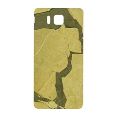 Stylish Gold Stone Samsung Galaxy Alpha Hardshell Back Case by yoursparklingshop