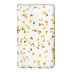 Gold Hearts Confetti Samsung Galaxy Tab 4 (8 ) Hardshell Case  by theimagezone
