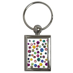 Play With Me Key Chains (rectangle)  by Valentinaart