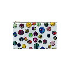 Play With Me Cosmetic Bag (small)  by Valentinaart