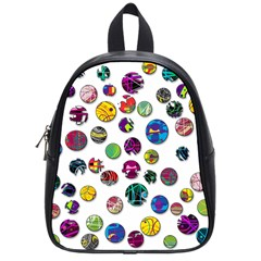 Play With Me School Bags (small)  by Valentinaart