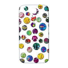 Play With Me Samsung Galaxy S4 I9500/i9505  Hardshell Back Case by Valentinaart