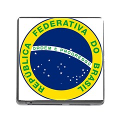 National Seal of Brazil  Memory Card Reader (Square) by abbeyz71
