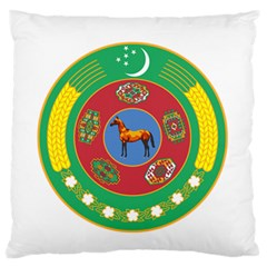 National Emblem Of Turkmenistan, 2000 2003 Standard Flano Cushion Case (two Sides)