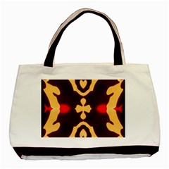 Deviding The Shadow Basic Tote Bag (two Sides) by MRTACPANS