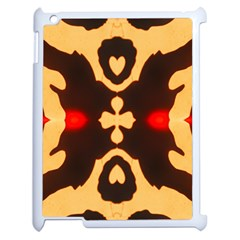Deviding The Shadow Apple Ipad 2 Case (white) by MRTACPANS