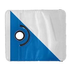 Flag Of Canton Of Zürich Samsung Galaxy S  Iii Flip 360 Case by abbeyz71