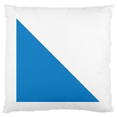 Flag Of Canton Of Zürich Standard Flano Cushion Case (two Sides)
