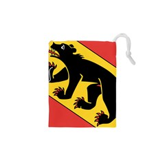 Flag of Canton of Bern Drawstring Pouches (XS)  by abbeyz71
