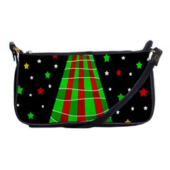 Xmas Tree  Shoulder Clutch Bags by Valentinaart