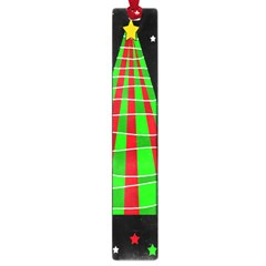 Xmas Tree  Large Book Marks by Valentinaart