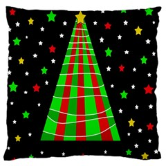Xmas Tree  Standard Flano Cushion Case (two Sides) by Valentinaart