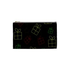 Xmas Gifts Cosmetic Bag (small)  by Valentinaart