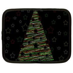 Xmas Tree 2 Netbook Case (xl)  by Valentinaart