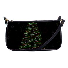 Xmas Tree 2 Shoulder Clutch Bags by Valentinaart