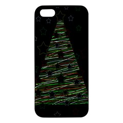 Xmas Tree 2 Iphone 5s/ Se Premium Hardshell Case by Valentinaart