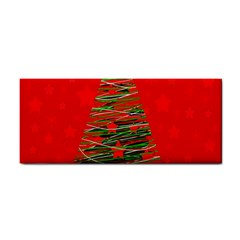 Xmas Tree 3 Hand Towel by Valentinaart
