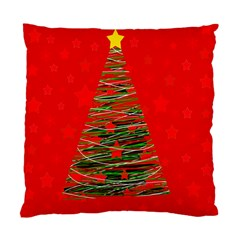 Xmas Tree 3 Standard Cushion Case (two Sides) by Valentinaart