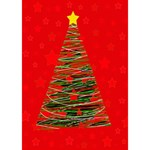 Xmas tree 3 BOY 3D Greeting Card (7x5) Inside