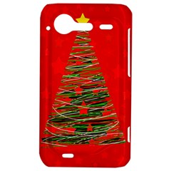 Xmas tree 3 HTC Incredible S Hardshell Case  by Valentinaart