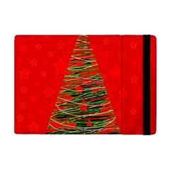 Xmas Tree 3 Apple Ipad Mini Flip Case by Valentinaart