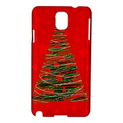 Xmas Tree 3 Samsung Galaxy Note 3 N9005 Hardshell Case by Valentinaart