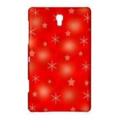 Red Xmas Desing Samsung Galaxy Tab S (8 4 ) Hardshell Case  by Valentinaart