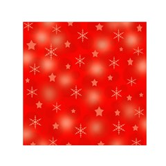 Red Xmas Desing Small Satin Scarf (square) by Valentinaart