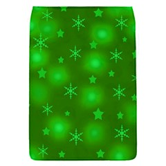 Green Xmas Design Flap Covers (s)  by Valentinaart