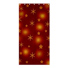 Xmas Design Shower Curtain 36  X 72  (stall)  by Valentinaart