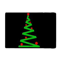 Simple Xmas Tree Apple Ipad Mini Flip Case by Valentinaart