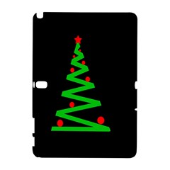 Simple Xmas Tree Samsung Galaxy Note 10 1 (p600) Hardshell Case by Valentinaart