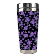 Palm Trees Motif Pattern Stainless Steel Travel Tumblers