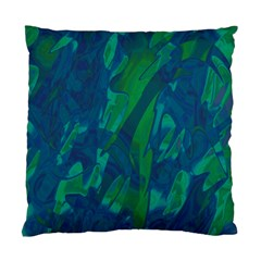 Green And Blue Design Standard Cushion Case (two Sides) by Valentinaart