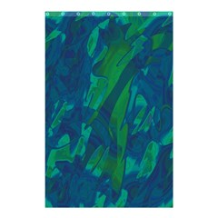 Green And Blue Design Shower Curtain 48  X 72  (small)  by Valentinaart