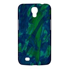 Green And Blue Design Samsung Galaxy Mega 6 3  I9200 Hardshell Case by Valentinaart