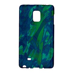 Green And Blue Design Galaxy Note Edge by Valentinaart