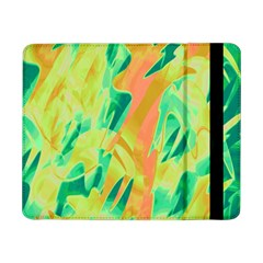 Green And Orange Abstraction Samsung Galaxy Tab Pro 8 4  Flip Case by Valentinaart