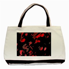 Painter Was Here  Basic Tote Bag by Valentinaart