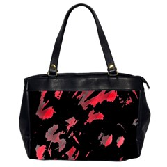 Painter Was Here  Office Handbags (2 Sides)  by Valentinaart
