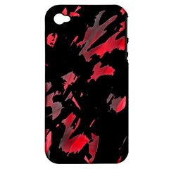 Painter Was Here  Apple Iphone 4/4s Hardshell Case (pc+silicone) by Valentinaart