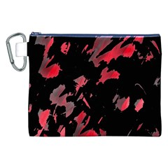 Painter Was Here  Canvas Cosmetic Bag (xxl) by Valentinaart