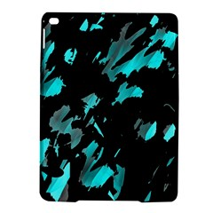 Painter Was Here   Cyan Ipad Air 2 Hardshell Cases by Valentinaart