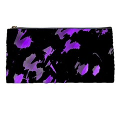 Painter Was Here   Purple Pencil Cases by Valentinaart