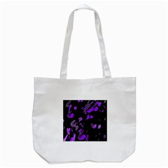 Painter Was Here   Purple Tote Bag (white) by Valentinaart