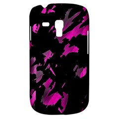 Painter Was Here   Magenta Samsung Galaxy S3 Mini I8190 Hardshell Case by Valentinaart