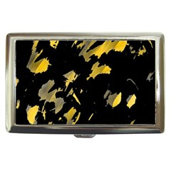 Painter Was Here   Yellow Cigarette Money Cases by Valentinaart