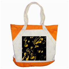 Painter Was Here   Yellow Accent Tote Bag by Valentinaart